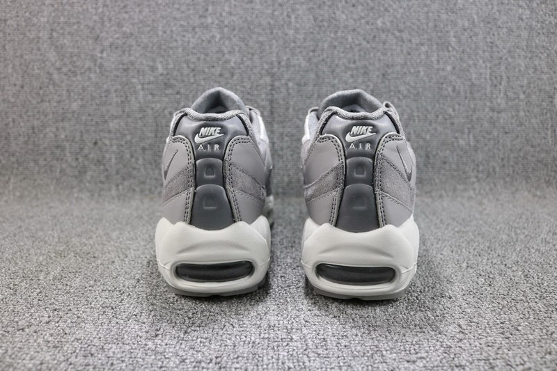 official photos 4ed3f 649fb Nike Air Max 95 LX Gunsmoke AA1103-003 Men's-Women's Grey Suede Leather  Running Shoes