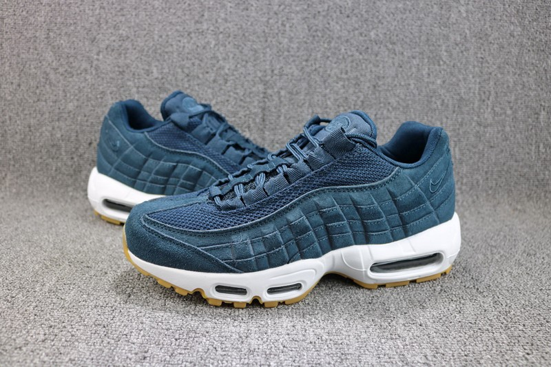 Nike Air Max 95 Prm Armory Navy Armory Navy Blue Fox Men S Running