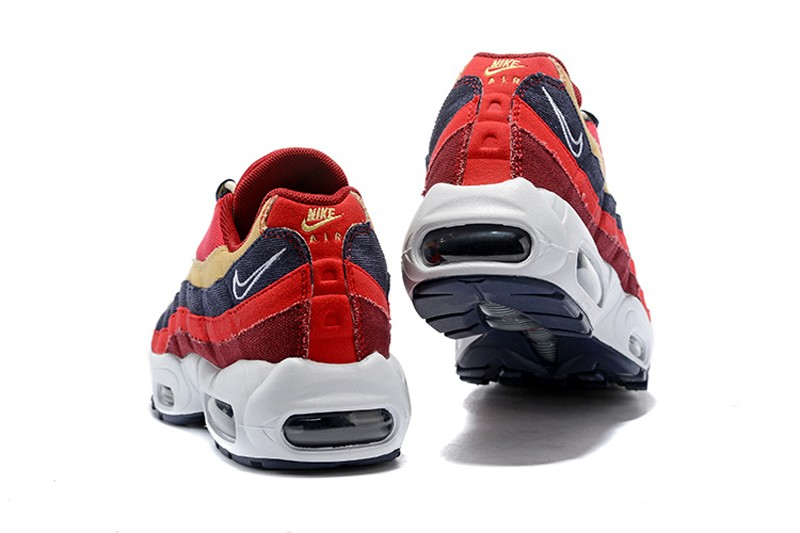 reputable site 5cb5d 69624 Nike Air Max 95 Red Crush Provence Purple 538416-603 Men's-Women's Running  Shoes Super Deals