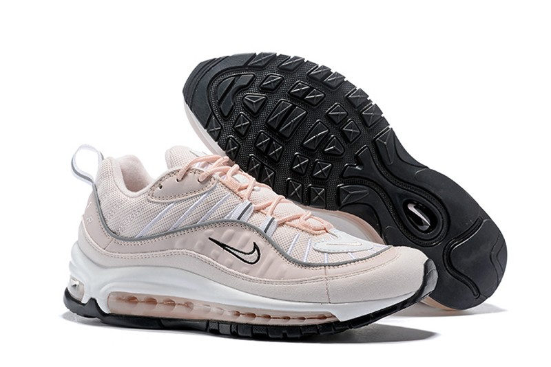 d6a3f955b82d Nike Air Max 98 Barely Rose Elemental Rose-Particle Rose Women s ...
