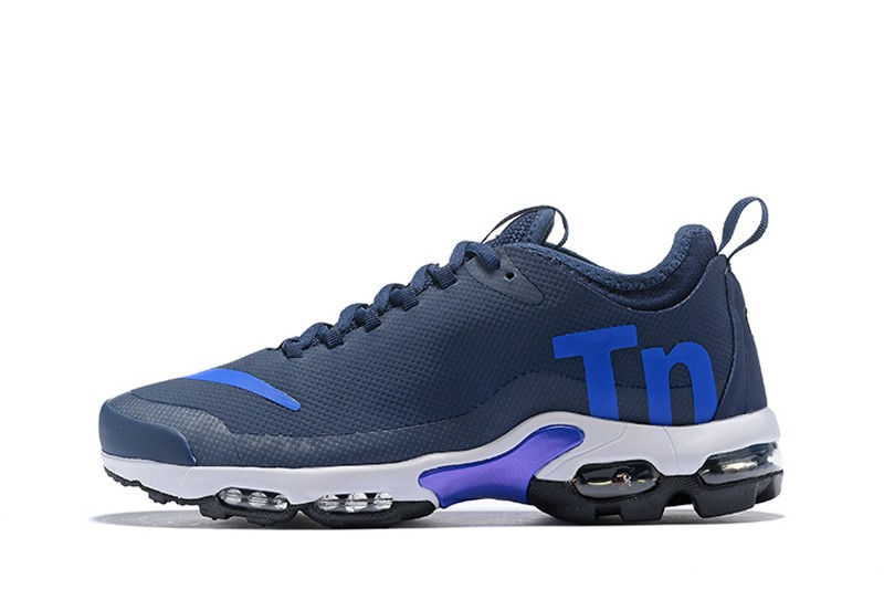 cc88e3b8f8 Nike Air Max Plus TN Ultra SE Navy Blue/Royal Blue Combo Men's Running Shoes  ...