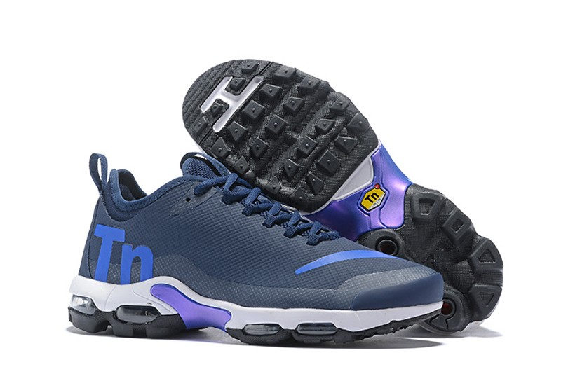 official photos 15197 d936c Nike Air Max Plus TN Ultra SE Navy Blue/Royal Blue Combo Men's Running  Shoes AQ1088-400