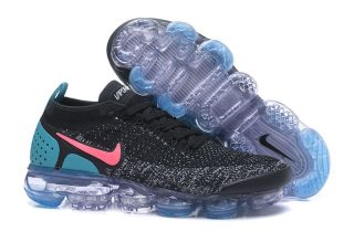 aa6f1de0d616e Nike Air VaporMax Flyknit 2.0 942842-003 Black Hot Punch-White-Dusty Cactus  Newest Trainers