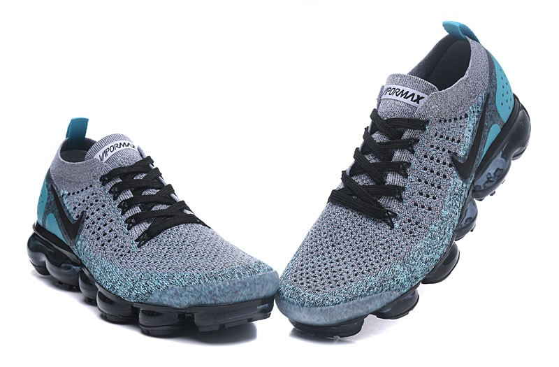 sports shoes b8447 2baba Nike Air VaporMax Flyknit 2.0 Neutral Running Shoes 942842-104 Black/Dusty  Cactus-Hyper Jade