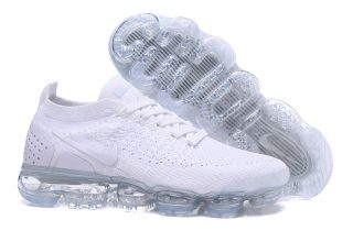 separation shoes cb919 f61a3 Nike Air VaporMax Flyknit 2.0 New Style Running Shoes 942842-100  WhiteWhite-Pure Platinum