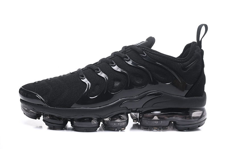 the best attitude fe81c b53e1 Nike Air Vapormax Plus Tn 924453-004 Men's-Women's Triple Black Jogging  Running Shoes For Sale
