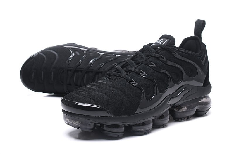 promo code 6a092 c7c18 Nike Air Vapormax Plus Tn 924453-004 Men s-Women s Triple Black Jogging  Running Shoes For Sale