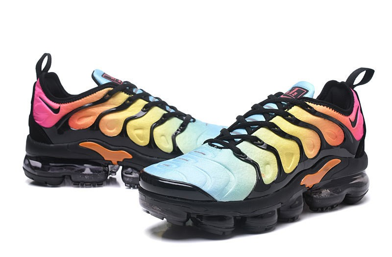 new style f5680 f8f80 Nike Air Vapormax Plus Tn Black/Total Orange-Laser Blue-Pink Women's  Running Shoes Hot Sale