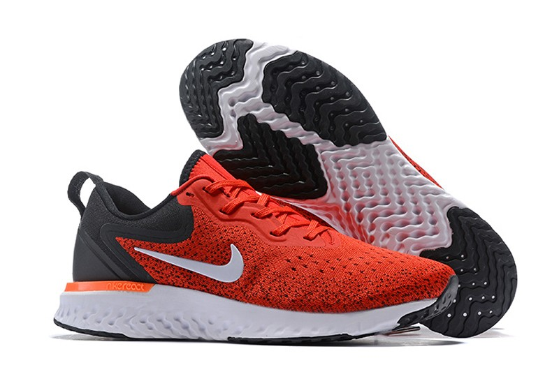 676f023d6dd Nike Odyssey React Men s Gym Red Black-White Running Shoes AO9819 ...