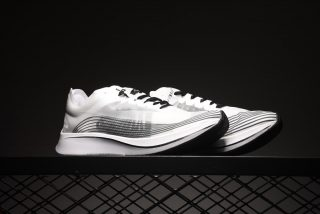 f66a0ff65b62 Nike Zoom Fly Sp Mens Running Shoes AA3172-101 White Black-Summit ...