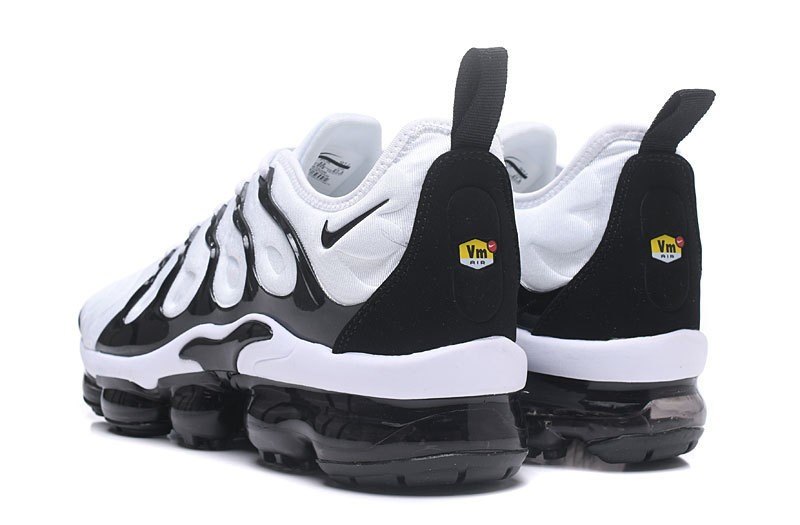"0e29e5fa97a Top Quality Men s Nike Air Vapormax Plus Tn ""White-Black"" Fashion Running  Shoes Sneakers"