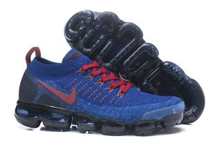 b875c05c555 Top Quality Nike Air VaporMax Flyknit 2.0 Men s Sapphire Gym Red Running  Shoes 942842-008