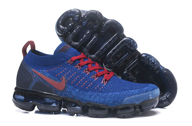 4af0d5748e7 Top Quality Nike Air VaporMax Flyknit 2.0 Men s Sapphire Gym Red Running Shoes  942842-008