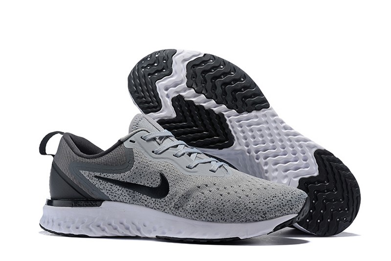 size 40 15ae0 6509b Top Quality Nike Odyssey React AO9819-003 Men s Wolf Grey-Black Running  Shoes Sneakers