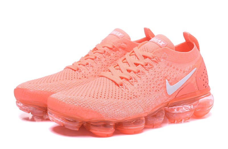 abe8fab38a Wmns Nike Air VaporMax Flyknit 2.0 Crimson Pulse 2018 New Style ...