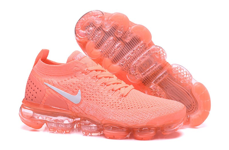 61e2892a34fa Wmns Nike Air VaporMax Flyknit 2.0 Crimson Pulse 2018 New Style Running Shoes  942843-800