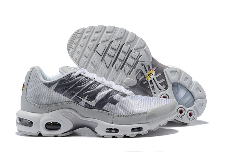 low priced 006c2 bbbdc Best Sell Men's Nike Air Max Plus TN SE Wolf Grey/Dark Grey Cushioning  Running Shoes AT0040-003