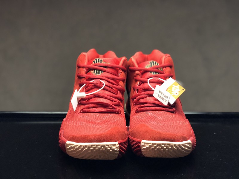 best sneakers dcaa4 6fb9f Best Sell Nike Kyrie 4 CNY Cushioning Basketball Shoes 943807-600  University Red/Black-Team Red