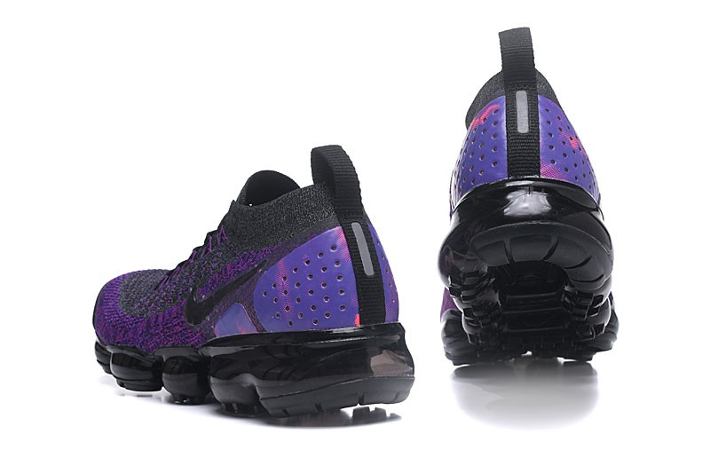 59c17871289 New Arrival Nike Air VaporMax Flyknit 2.0 Dark Grey Purple Men s-Women s  Running Shoes 942842-600