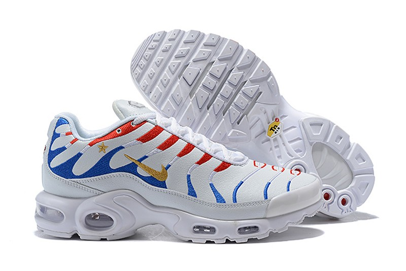 Nike Air Max Plus Tn White 1998-2018 World Cup With Cushioning Jogging  Shoes For Online Sale