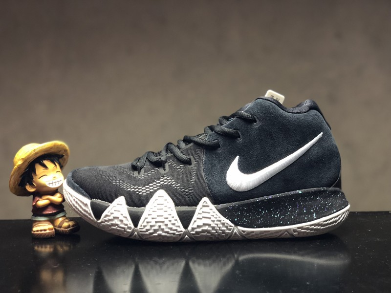 the best attitude 80bbb faad7 Nike Kyrie 4 EP Irving Ankle Taker Black 943807-002 Men's Basketball Shoes  Free Shipping