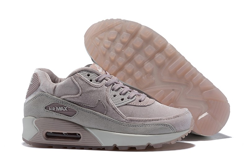 Nike WMNS Air Max 90 Fashion Running Shoes 898512-600 Particle Rose Vast ... d98155101