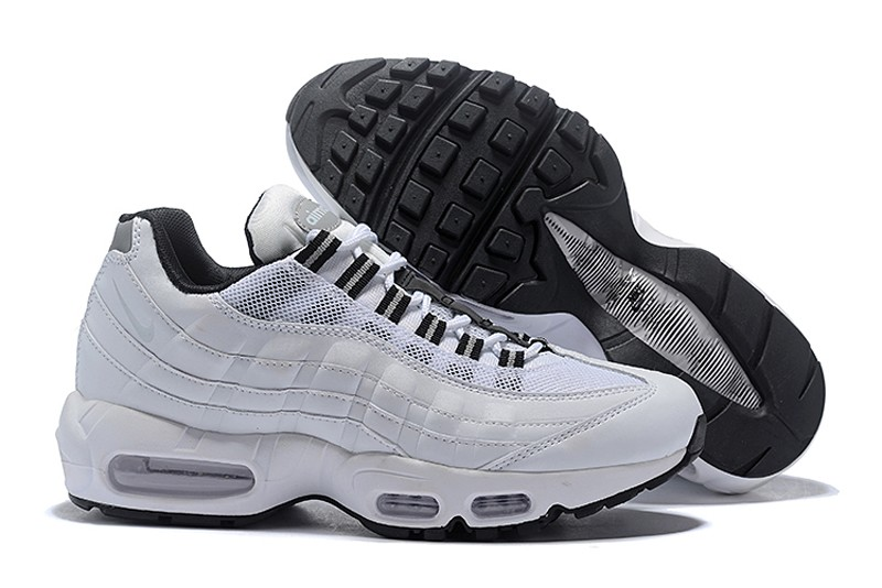 2018 Year Best Sell Nike Air Max 95 Men S Retro Running Shoes 307960 113 Reflect Silver White Idae