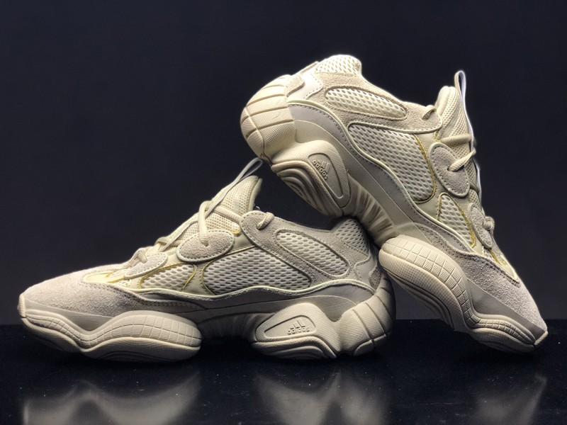 "60665ccf9651d Adidas Yeezy 500 ""Desert Rat"" Super Moon Yellow Men s DB2966 Latest Style  Running Shoes"