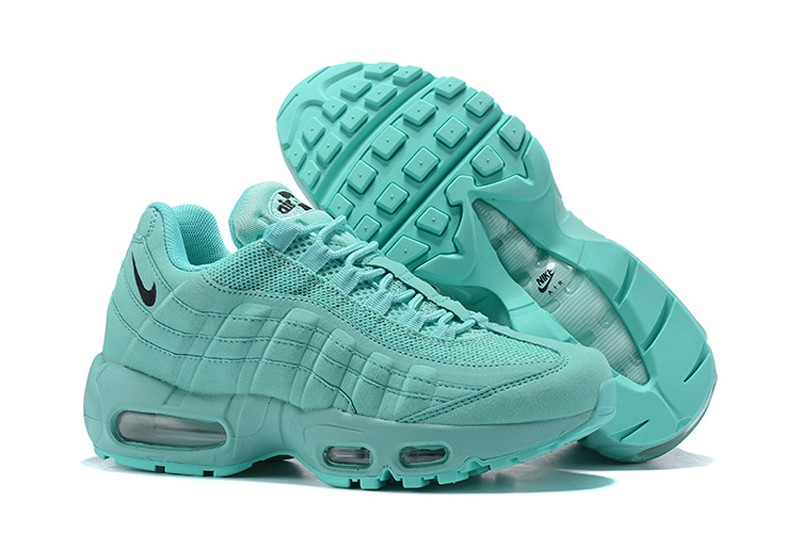 more photos 50be7 350bc High Quality Nike Air Max 95 Mint Green Black Women s ...