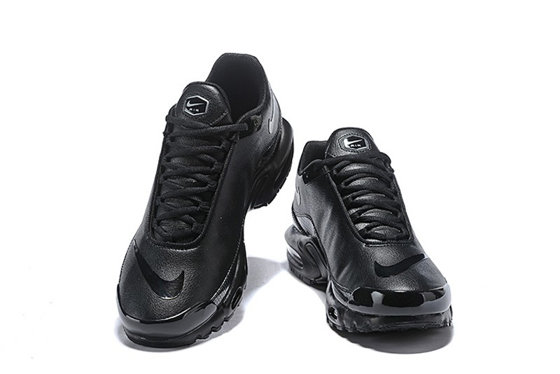 reputable site 44f07 39ec6 High Quality Nike Air Max Plus TN SE Mercurial Men's Athletic Sneakers All  Black On Sale