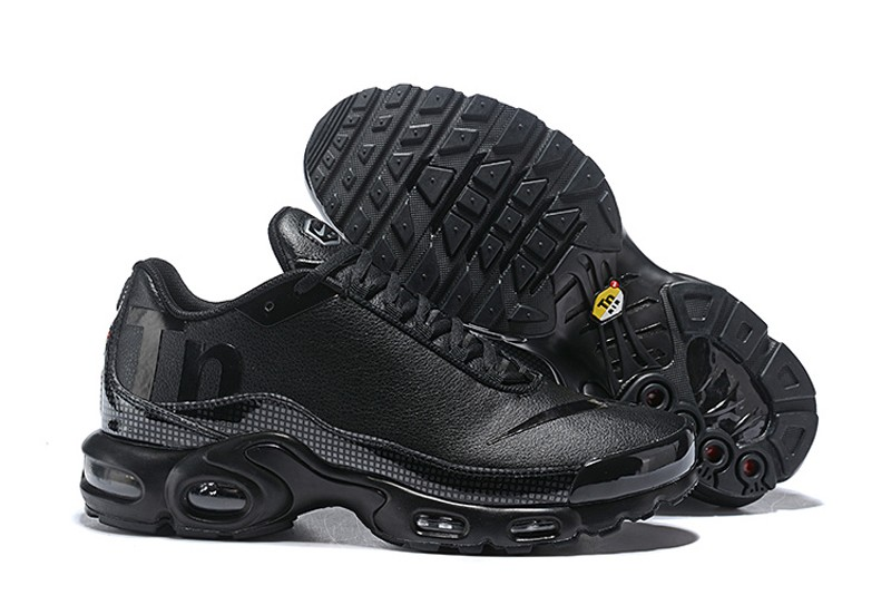 reputable site b1649 f17e7 High Quality Nike Air Max Plus TN SE Mercurial Men's Athletic Sneakers All  Black On Sale