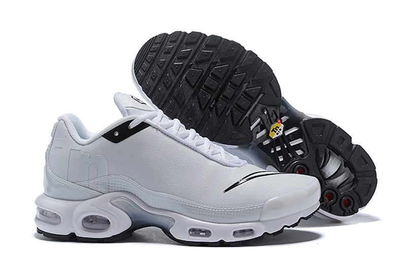 on sale 9185d f84e9 Men s Nike Air Max Plus TN SE White Black-White ...