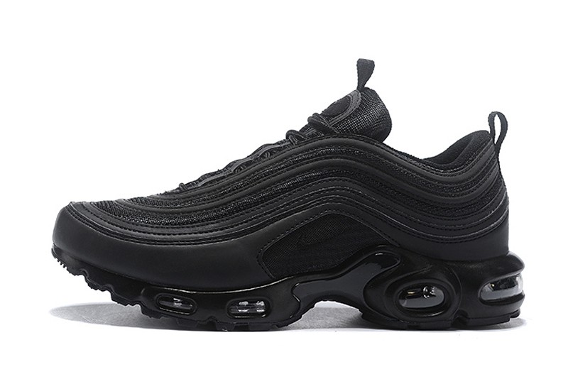 Most Popular Nike Air Max 97 Plus TN Black/Anthracite Men's Shoes In Stock