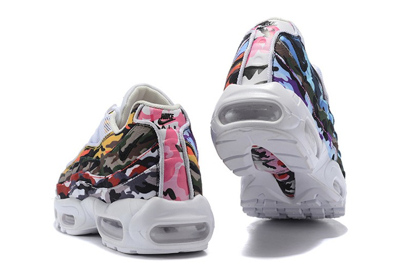 b1274e8dc3a New Release Nike Air Max 95 ERDL Party White Multi-Color Men s Running  Shoes AR4473-100