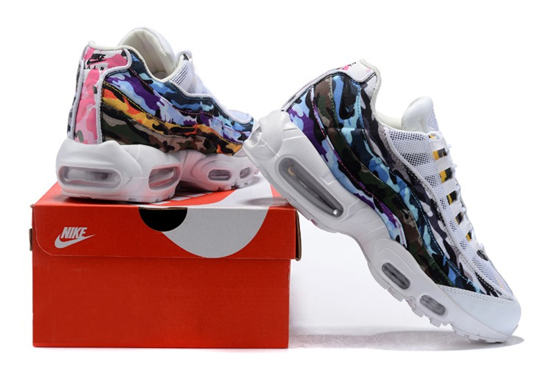 898a4cce94e New Release Nike Air Max 95 ERDL Party White Multi-Color Men s Running Shoes  AR4473-100