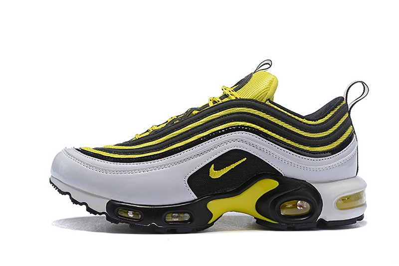New This Year Nike Air Max 97 Plus Tn Av7937 100 White Tour Yellow
