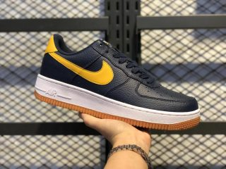 Nike Air Force 1 Low '07 Dark Navy/Yellow For Sale CL0057-400