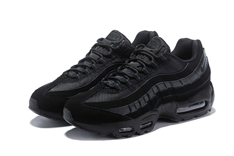 pretty nice effb5 11b65 Nike Air Max 95 Black Black-Anthracite Men s Classic Retro Running Shoes  609048-092