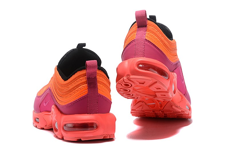 premium selection 340d7 24e46 Nike Air Max 97 Plus TN AH8143-600 Racer Pink/Hyper Magenta-Total  Crimson-Black Mens Jogging Shoes