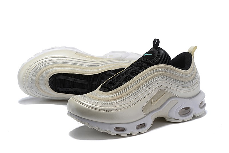 finest selection be2bb 5cffd Nike Air Max 97 Plus TN Men's Running Shoes AH8143-100 Orewood  Brown/Black-Emerald Rise