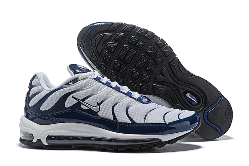 Nike Air Max 97 Plus Thunder Blue White Men S Fashion Athletic