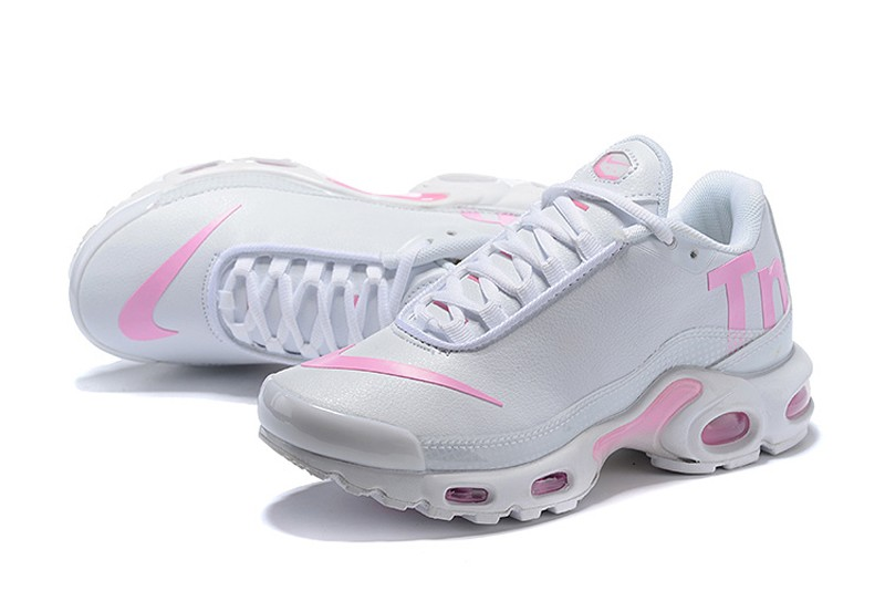 low priced 31c54 282d7 Nike WMNS Air Max Plus TN SE Pink/White Beautiful Athletic Sneakers Hot  Selling