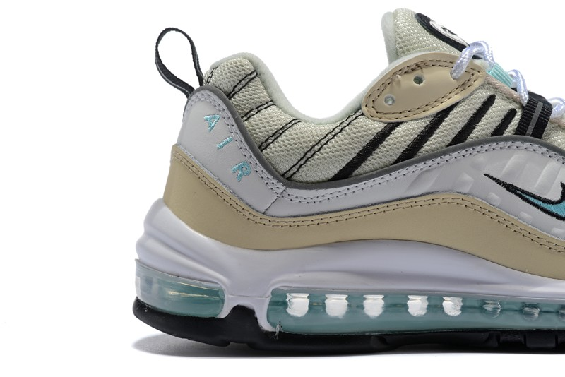 Nike Wmns Air Max 98 Newest Jogging Shoes Sail Igloo-Fossil-Reflective ... 48369a7dc
