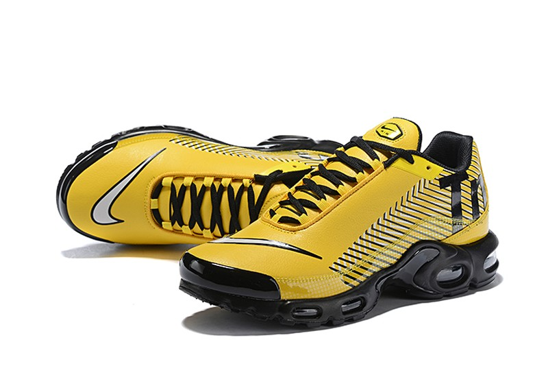 sports shoes ff03c 5d461 2018 New Arrival Nike Air Max Plus TN SE Men's Ginger Yellow/Black-White  Running Shoes
