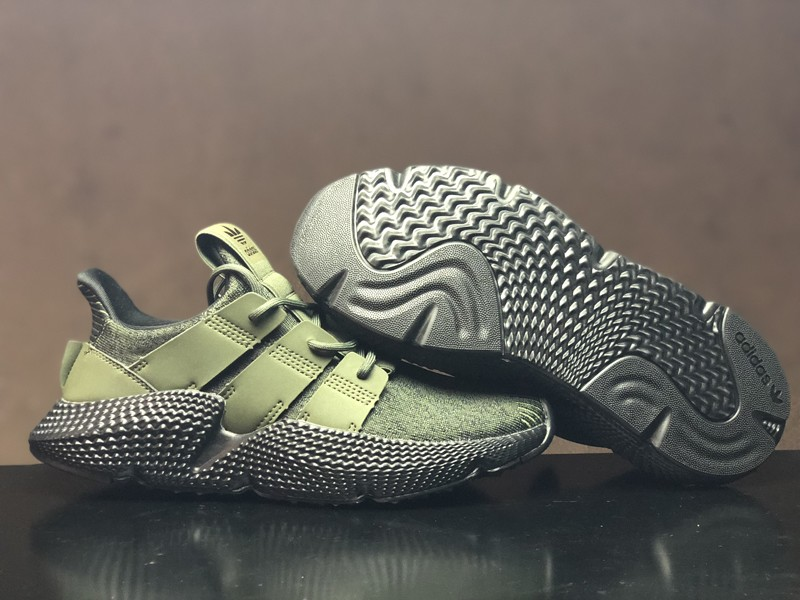 Adidas Prophere Black/Olive Green Men's Fashion Running Shoes ...
