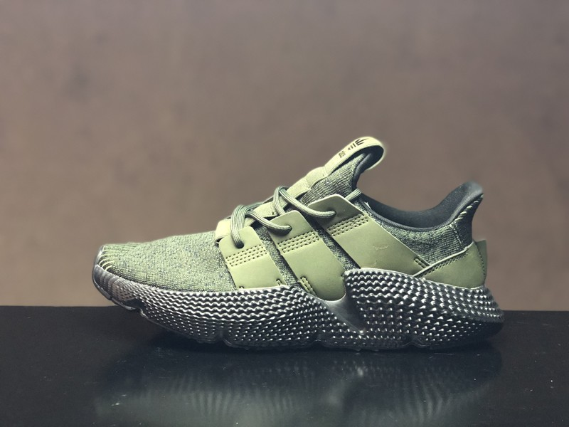 f70fd6eeb1dfaa Adidas Prophere Black Olive Green Men s Fashion Running Shoes BD7589 ...