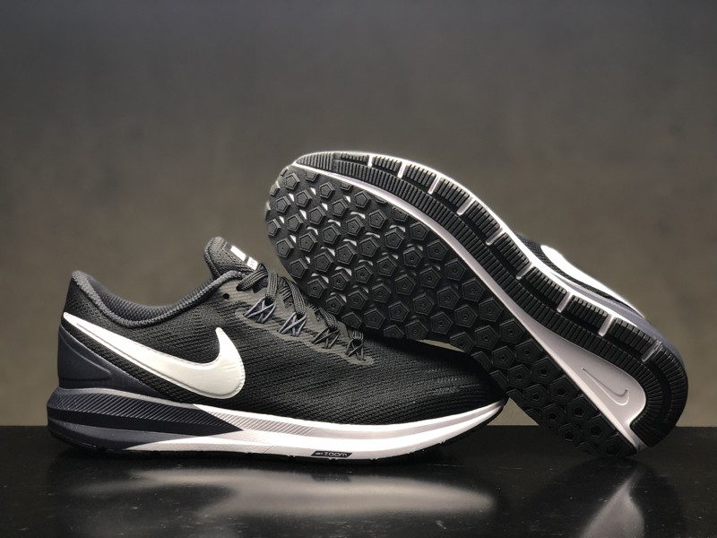 fadd2a4e535bf2 Brand New Nike Air Zoom Structure 22 Men s-Women s Black White-Gridiron  Running Shoes AA1636-002