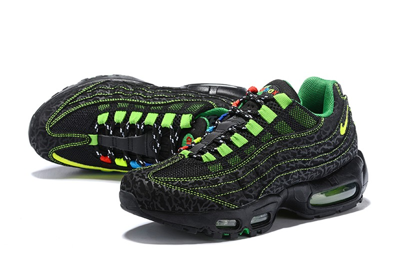 new concept 30dad afe45 High Quality Nike Air Max 95 Black Fluorescent ...