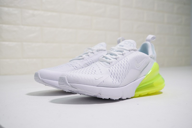 new products 5d284 0643b New Release Nike Air Max 270 White White-Volt AH8050-104 ...