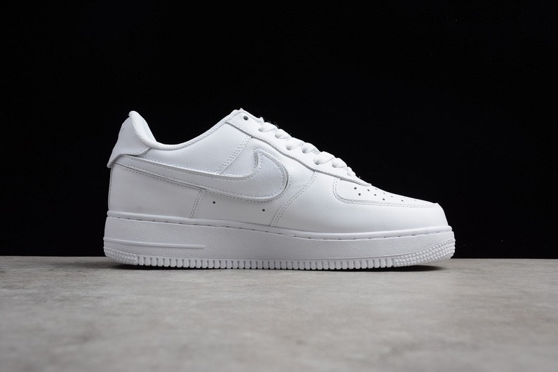 f9f5e389c89f50 New This Year Nike Air Force 1 Velcro Swoosh Pack White AH8462-102 ...